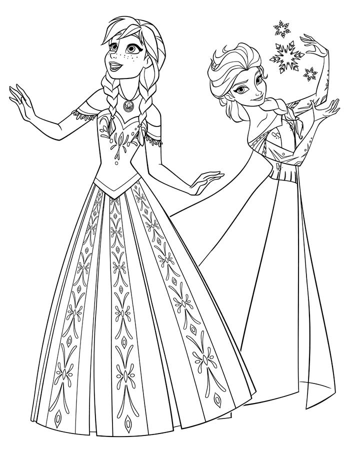 Quer se divertir com os desenhos para colorir do frozen é só