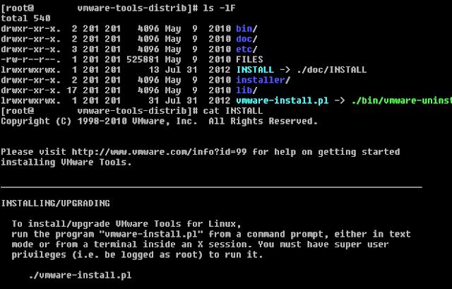 VMWare Tools para Linux