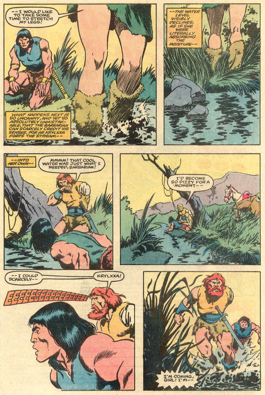 Conan the Barbarian (1970) Issue #163 #175 - English 6
