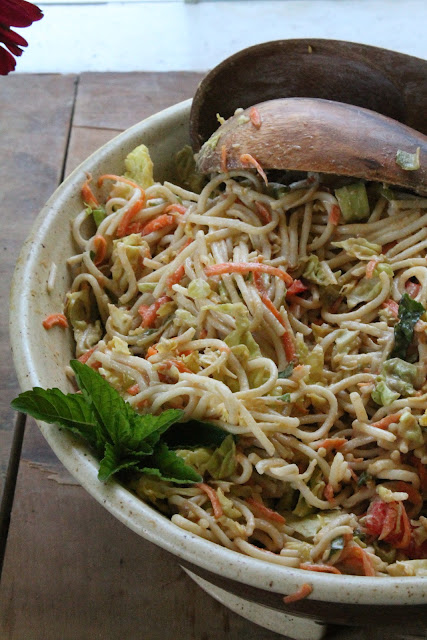Asian Noodle Salad | The Sweet Life