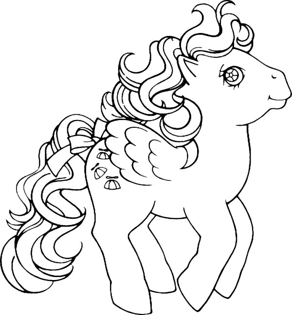 My Little Pony Coloring Pages Black And White : El cuentacuentos post y dibujos para pintar paint
