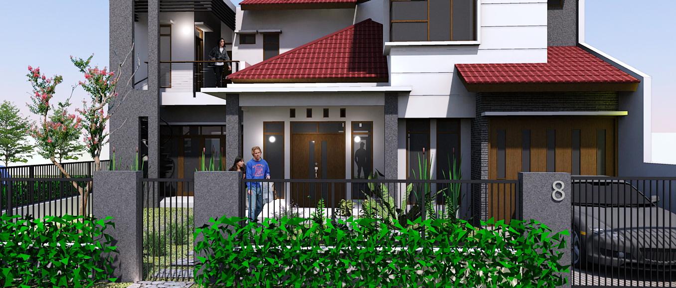 kumpulan desain rumah berkebun renovasi rumah minimalis