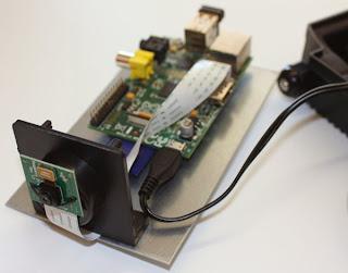Câmara de vigilância com Raspberry Pi