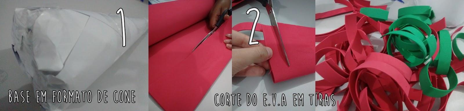 DIY ÁRVORE DE NATAL DE E.V.A - BLOG ALLY ARRUDA