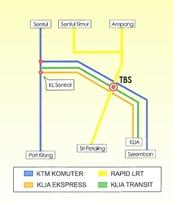 Cara ke Terminal Bersepadu Selatan