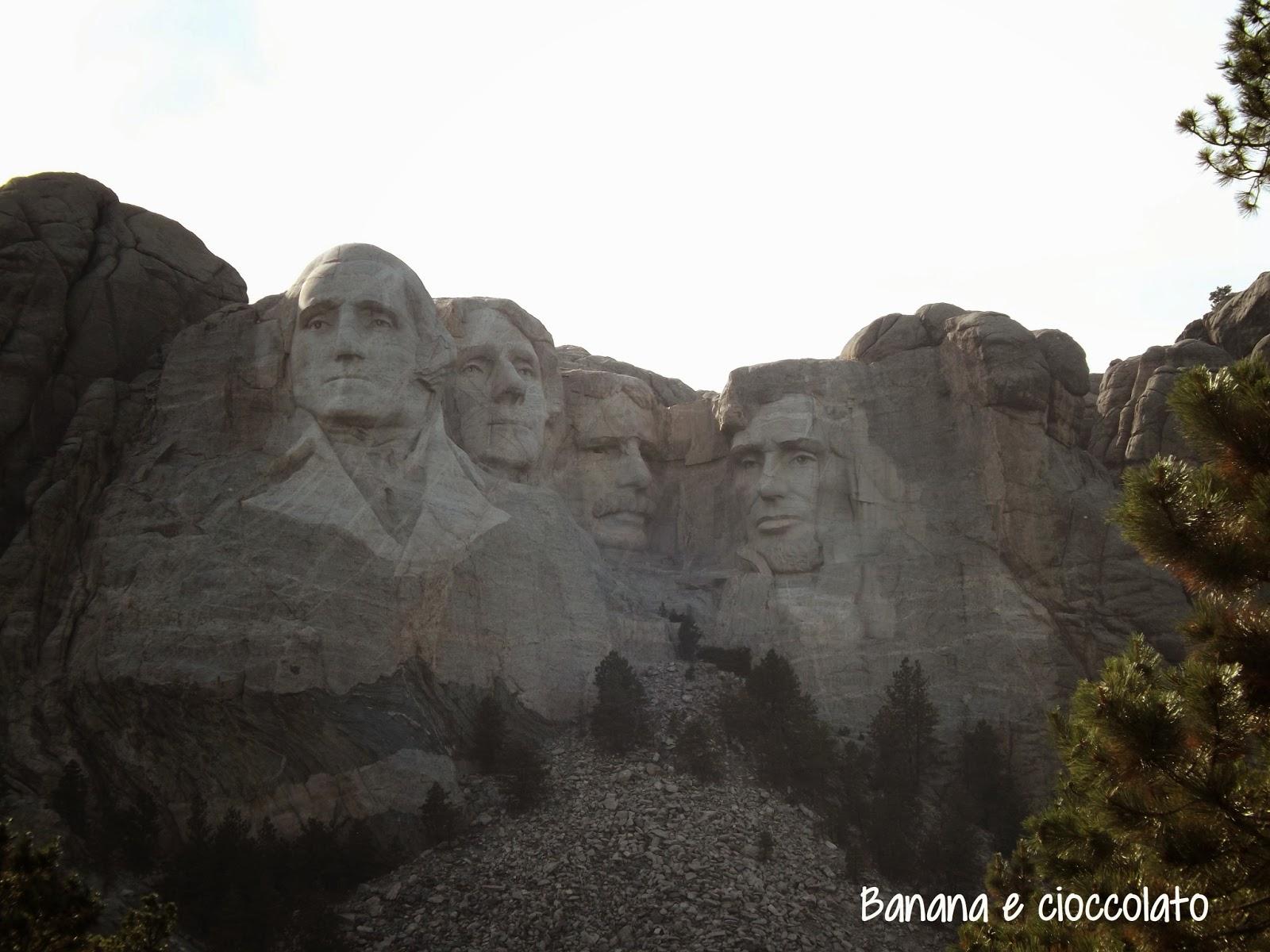 monte Rushmore, silvia diemmi, banana e cioccolato