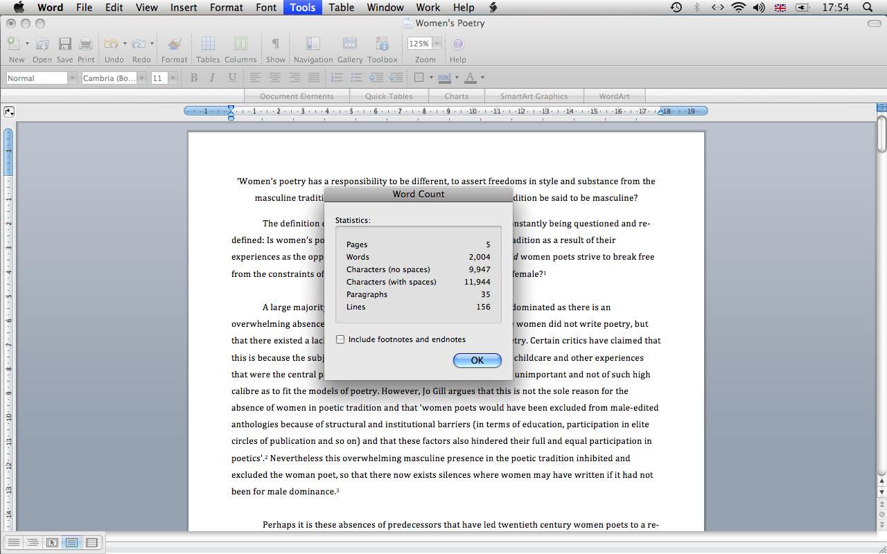 1600 word essay