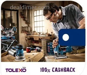 Tolexo - Rs. 100 Cashback on Purchase of Rs. 100