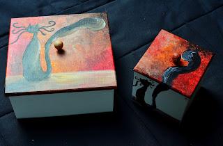 kot herbaciarka pudełko