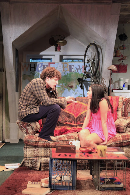 Oscar nominated Jesse Eisenberg wrote and stars in Asuncion off-Broadway in New York City