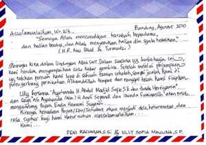 Contoh surat dalam bahasa jawa dengan baik dan benar basa krama alus inggil paling terbaru untuk mengerjakan tugas dari guru lengkap