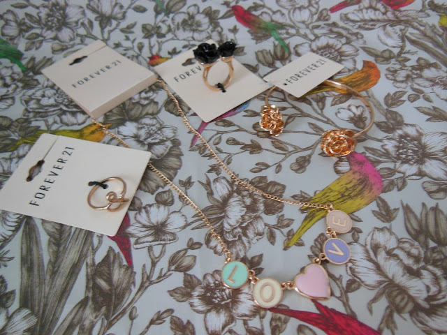 Forever 21 jewellery haul