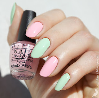 OPI Suzi Shops and Island Hops + That's Hula-rious!