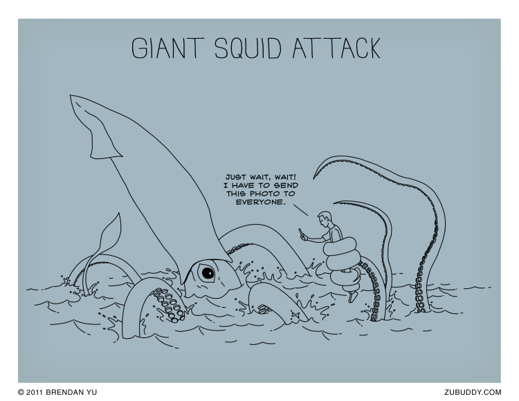 Giant Squid Attack