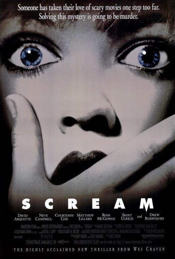 Scream (1996) poster
