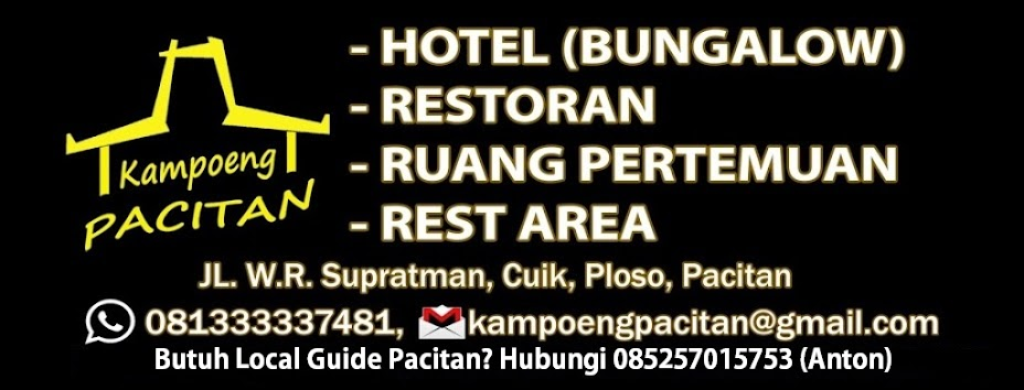 Welcome to Kampoeng Pacitan, Bungalow and Restaurant