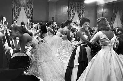 1950s beauty pageant gowns