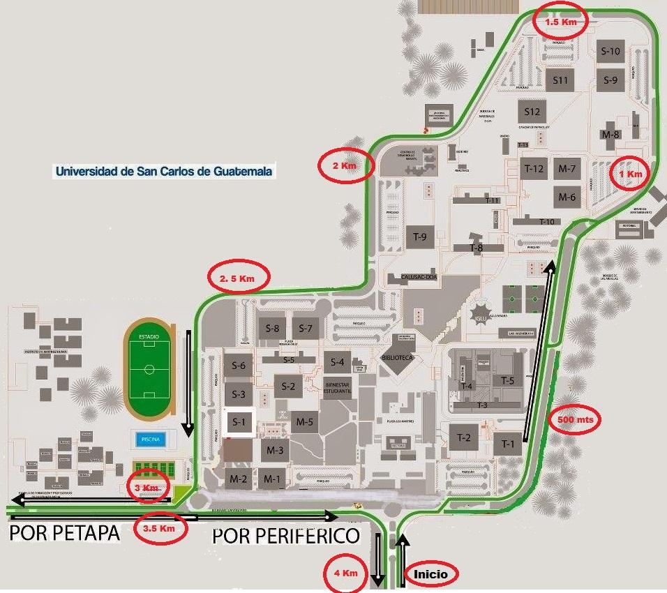 Septimo paso usac buscando con inter s lugares cercanos for Mapa facultad de arquitectura