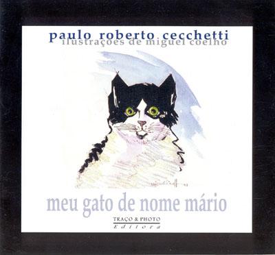 Livro Infantil sobre o gato Quintana