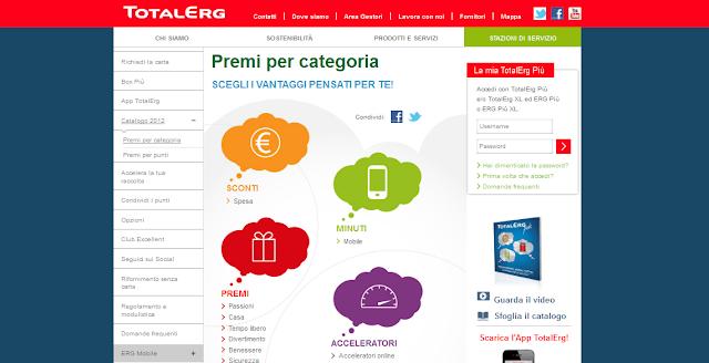 Catalogo Premi Totalerg Più 2012 2013