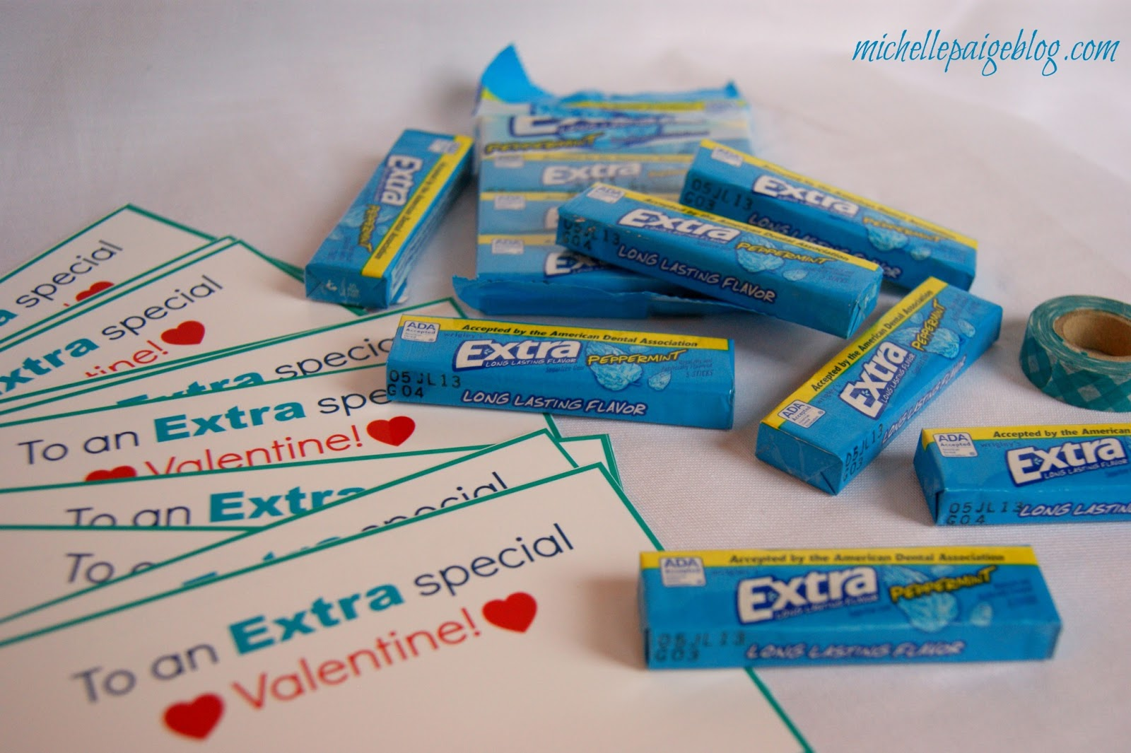 photo about Extra Gum Valentine Printable known as mice paige weblogs: More Exclusive Valentines