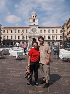 torre dell'orologio di Piazza dei Signori a Padova