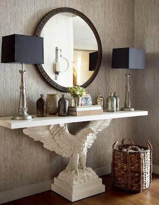 ideas to use console tables in interior decorating allthingabout