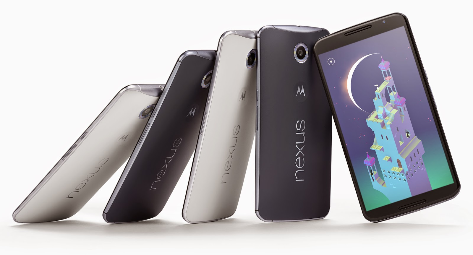A few Nexus 6 smartphones