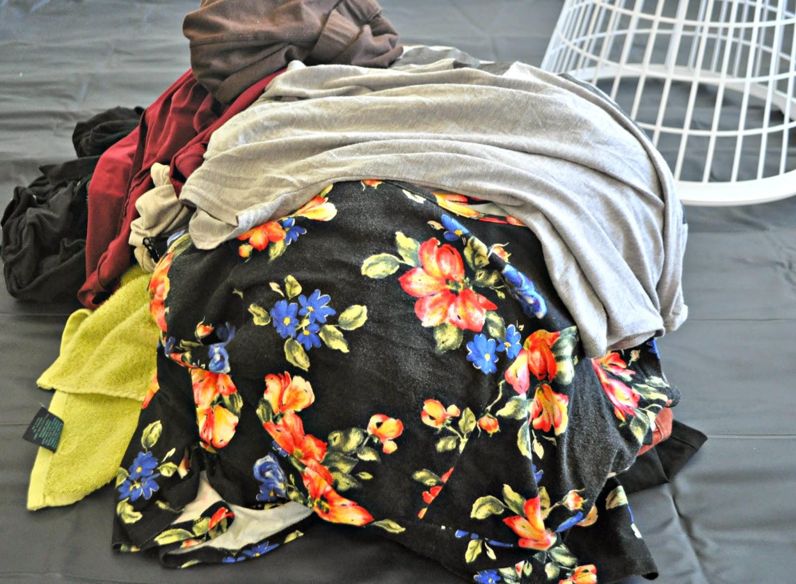 Purex, no sort, clean clothes, forever 21 floral peplum top