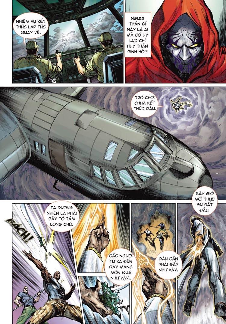 Thần Binh 4 chap 20 - Trang 8