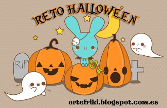 Reto Halloween Arte Friki