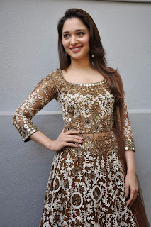 Actress Tamannah Bhatia Picture Gallery in Designer Dress at Bengal Tiger Movie Launch  15