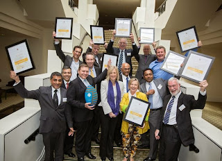 Winners of the 2013 ACT Chief Minister's Export Awards