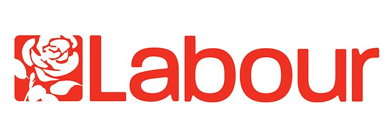 Labour Party Logo with red rose