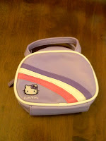 Hello, Kitty purple looking purse