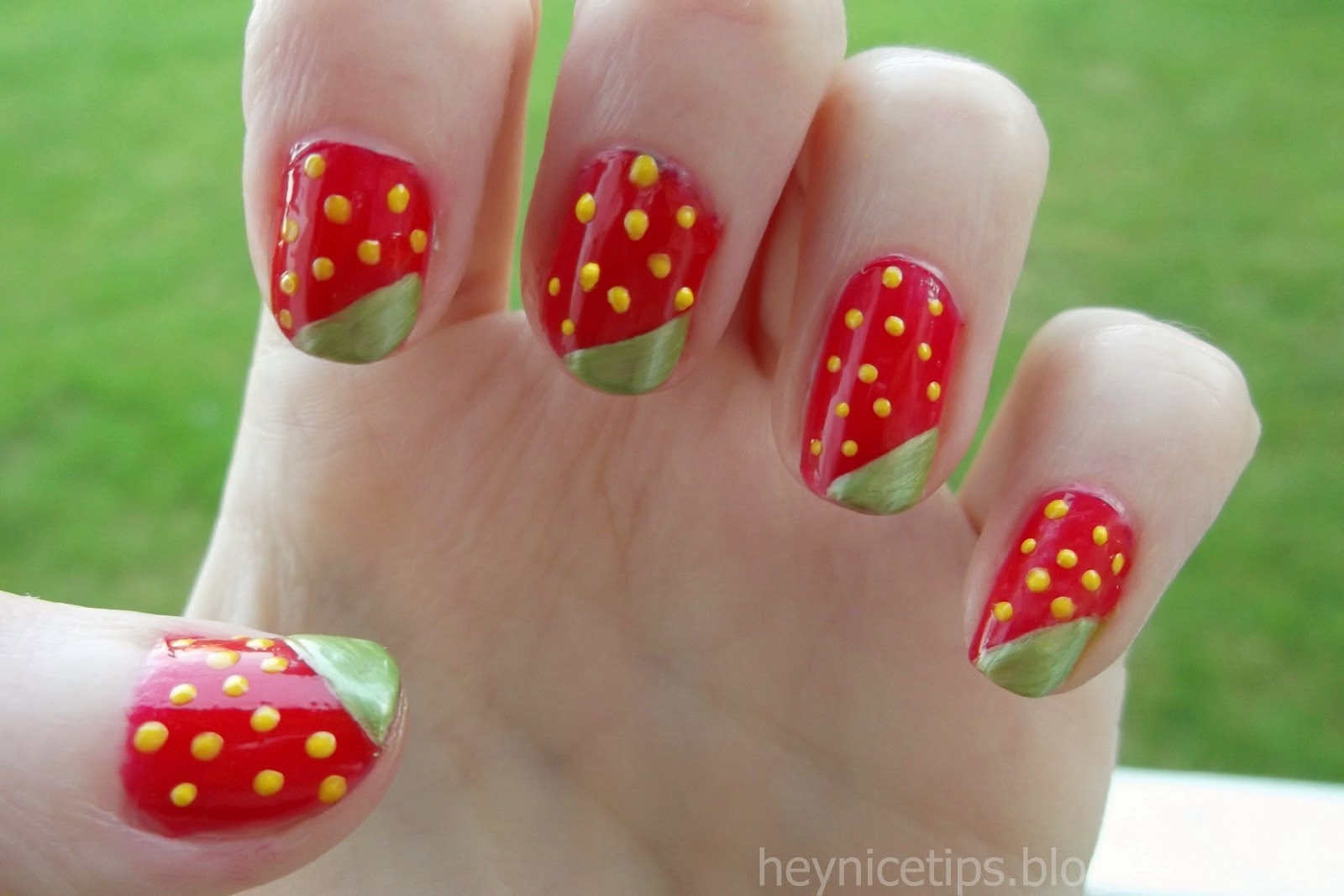 Easy Nail Art Designs With Dotting Tool Hession Hairdressing