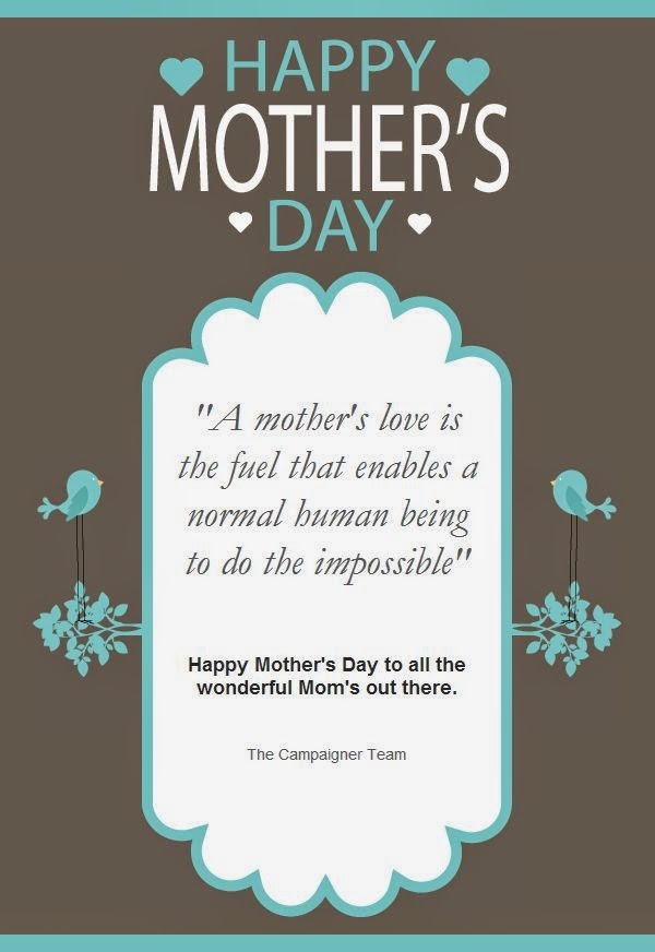 Happy Mother's Day from Campaigner