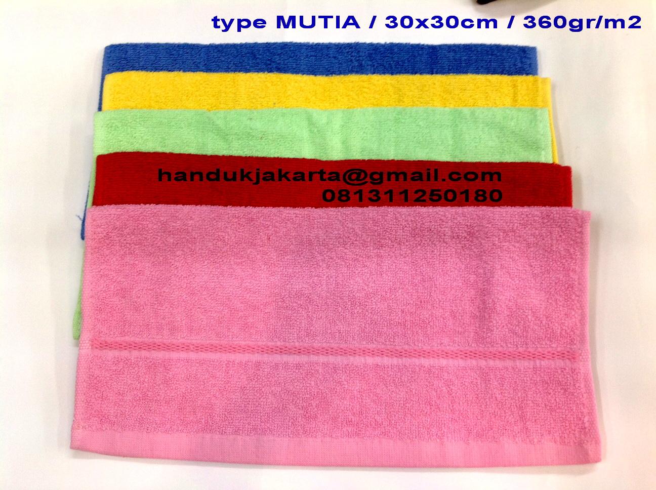 Grosir Handuk Mutia