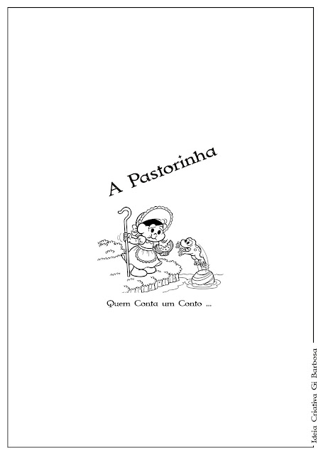 A Pastorinha ... O Final do Final / Temática Contos de Fada  /  Capa Final