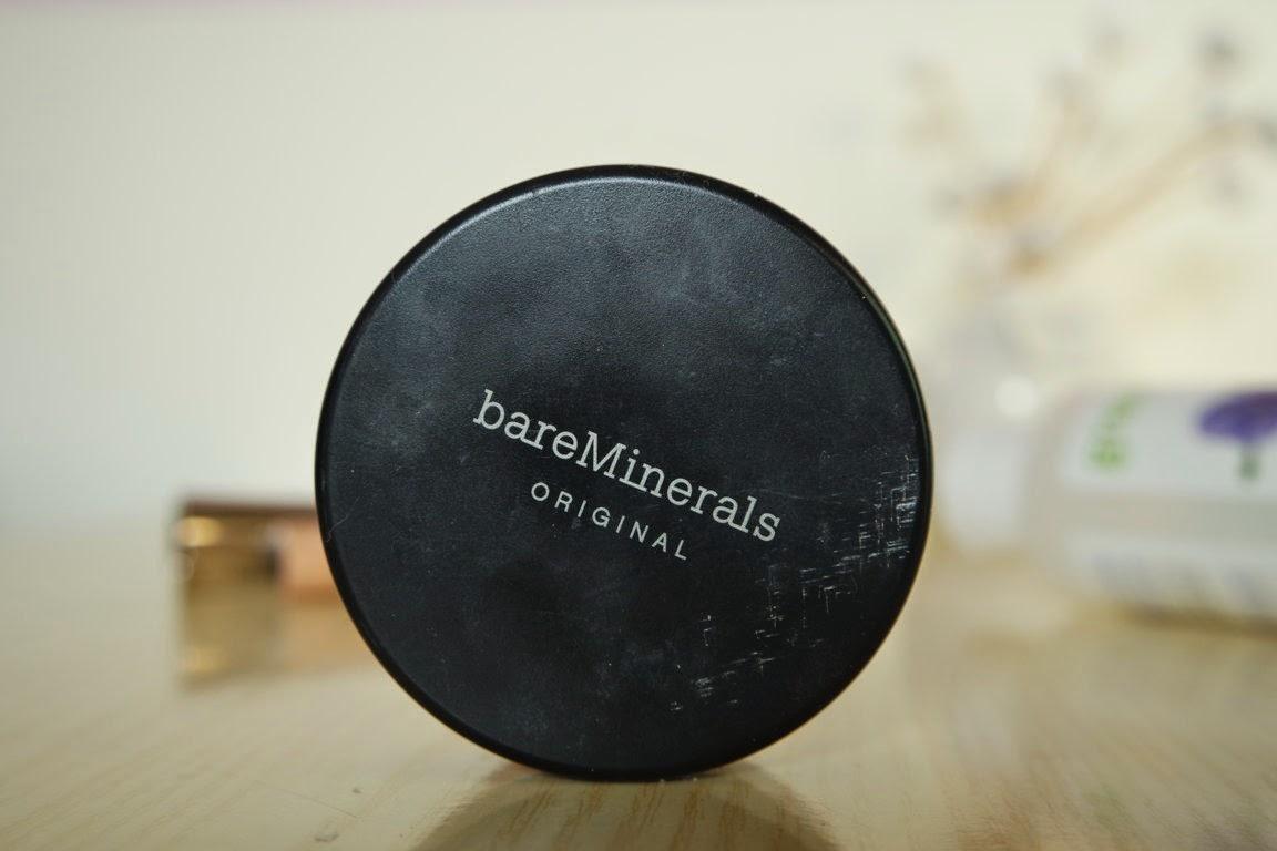 Bare minerals foundation