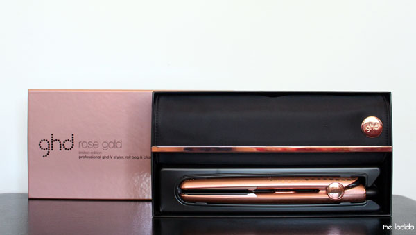 review ghd v rose gold styler the ladida