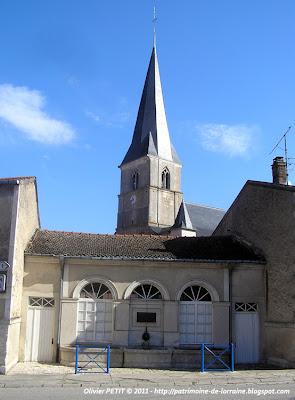 BLENOD-LES-TOUL (54) - Le Lavoir de la Rouge-Croix