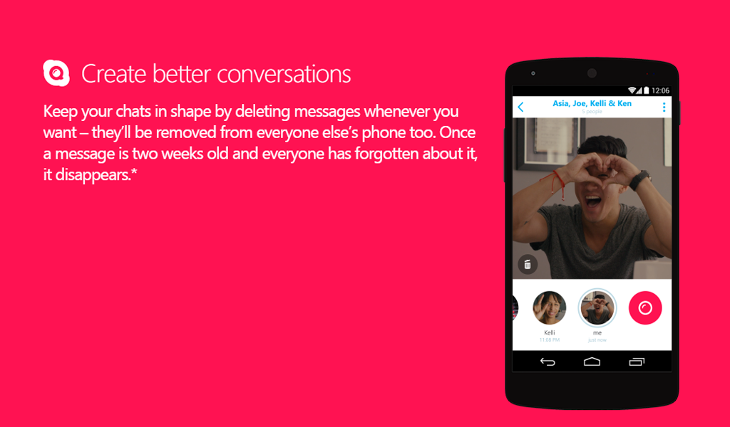 Skype Qik: A new video sharing app with friends! Qik or it didn't Happen!