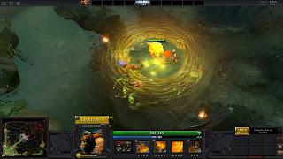 late game, earthshaker, dota 2