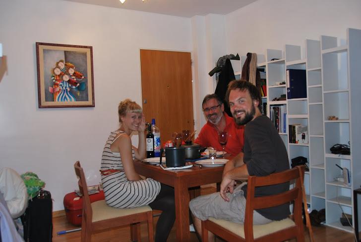 Middag i leiligheten