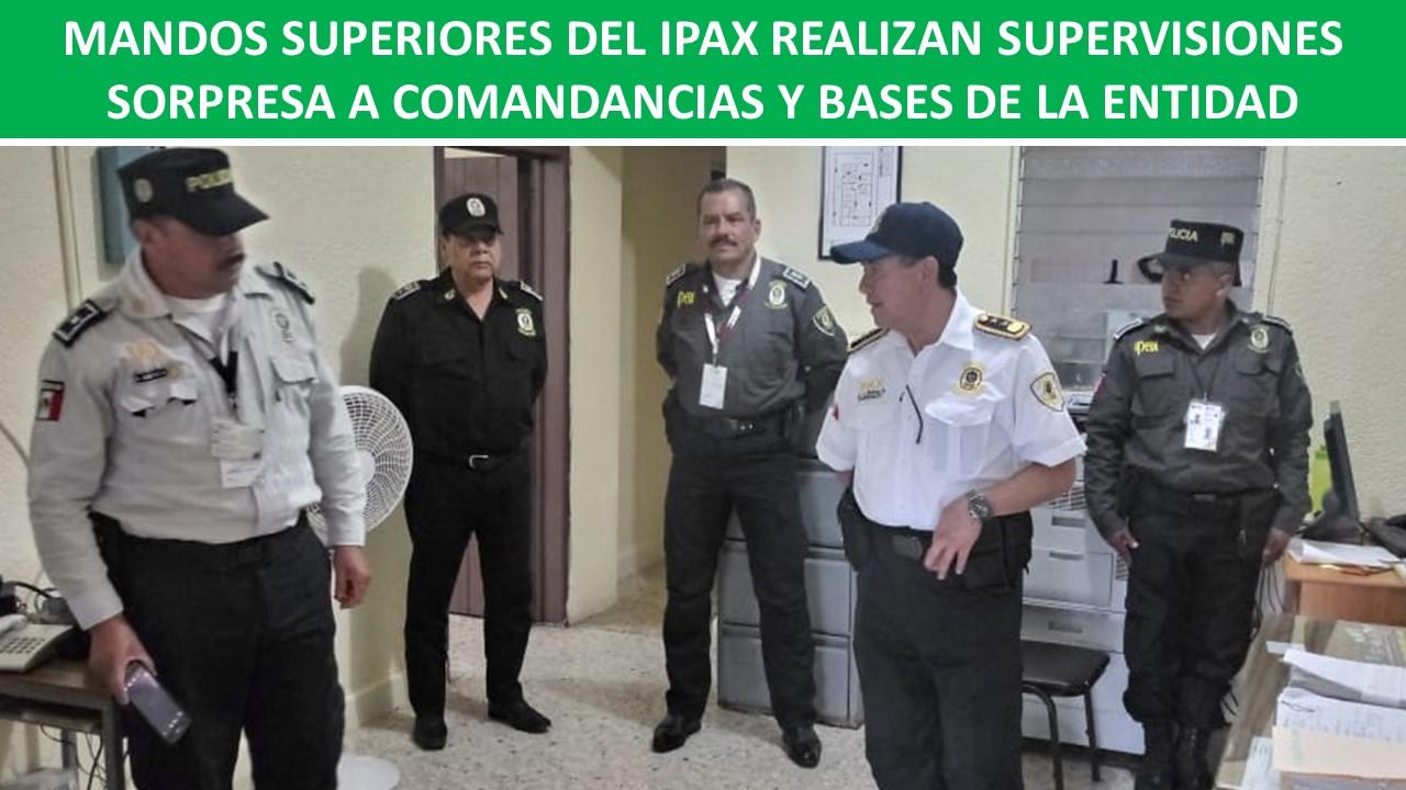 SUPERVISIONES SORPRESA