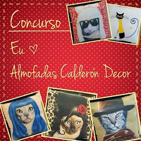 PARTICIPE do Concurso Almofadas Calderón Decor