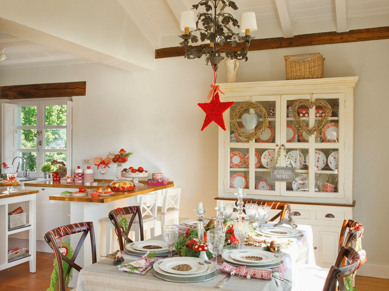 Navidad decoraci n good morning style - Decoracion para mesa navidena ...