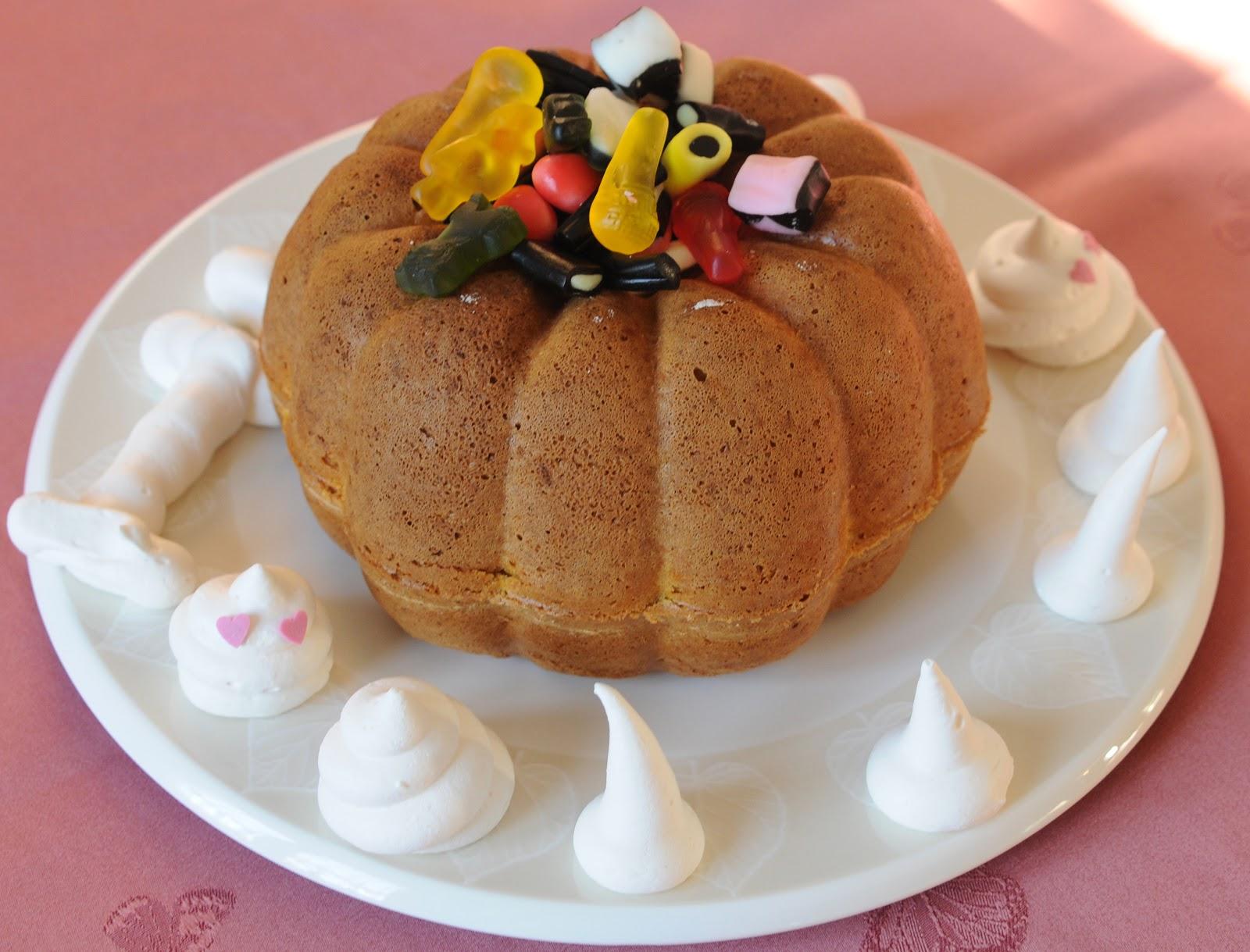 Mini Cake A La Citrouille