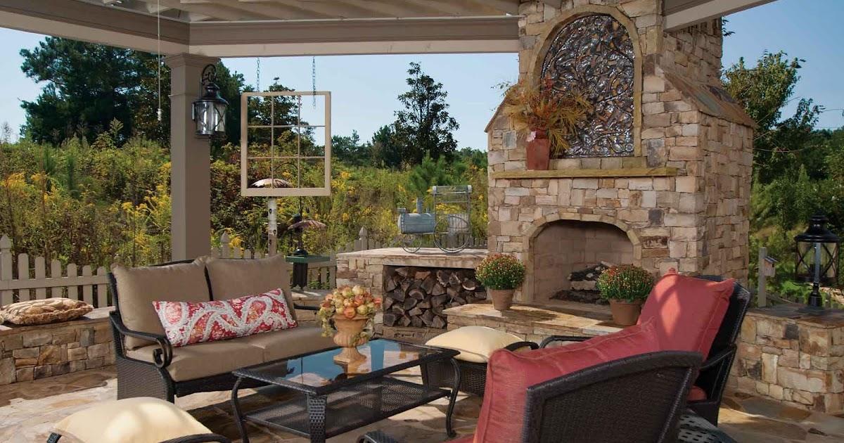 Dise o de pergola p rgola en jard n y chimena patios y for Disenos de jardines y patios